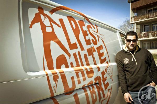 Quentin Alpes Chute Libre